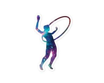 Galaxy Hula Hoops 1 -  Flow Arts Cosmic Stars Circus Sticker