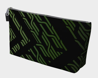 Geometrix - Cable Green Gear and Makeup Bag