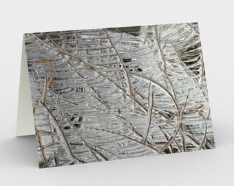 Notecards - Natural Treasures - Ice Sculptures 1