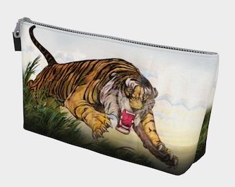 Flying Tiger Makeup Gear Bag with Pocket 2