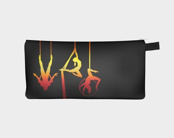 Aerial Ombre Pencil Case - Midnight Flame