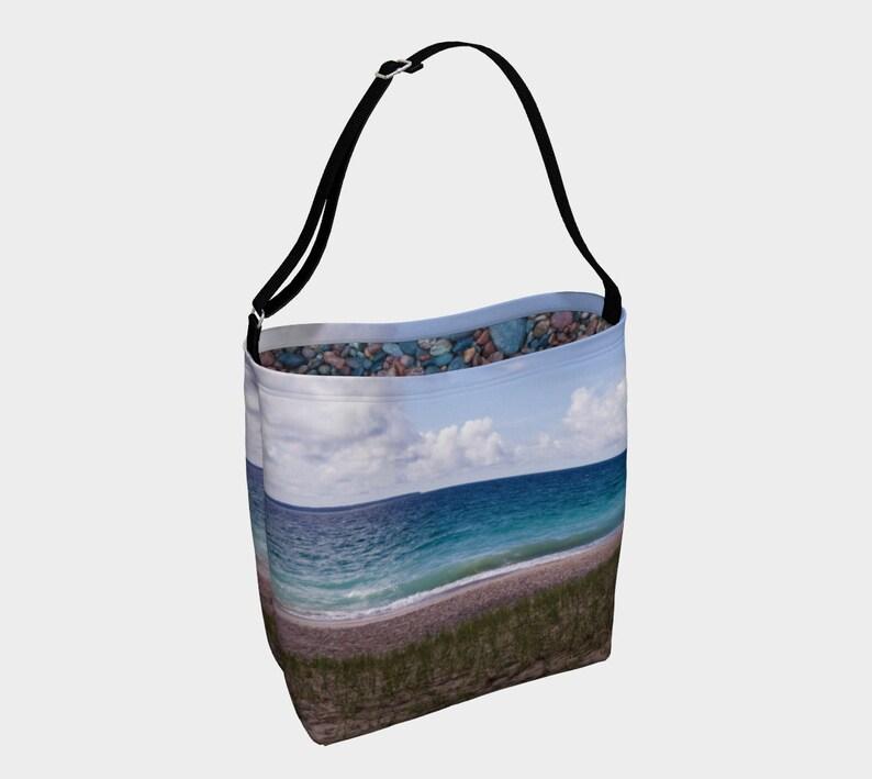 Lake Superior Agawa Bay  Sunny Day Tote Bag image 0