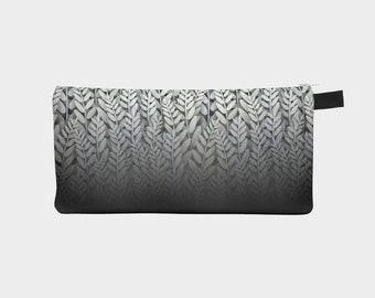 Black and White - Fern Pencil Case