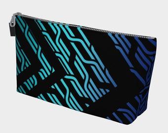 Geometrix - Cable Blue Gear and Makeup Bag