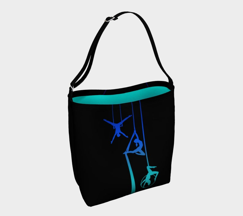 Midnight Ocean Tote Bag Aerial Ombre