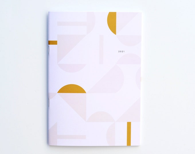 2021 Big Monthly Planner - Tile
