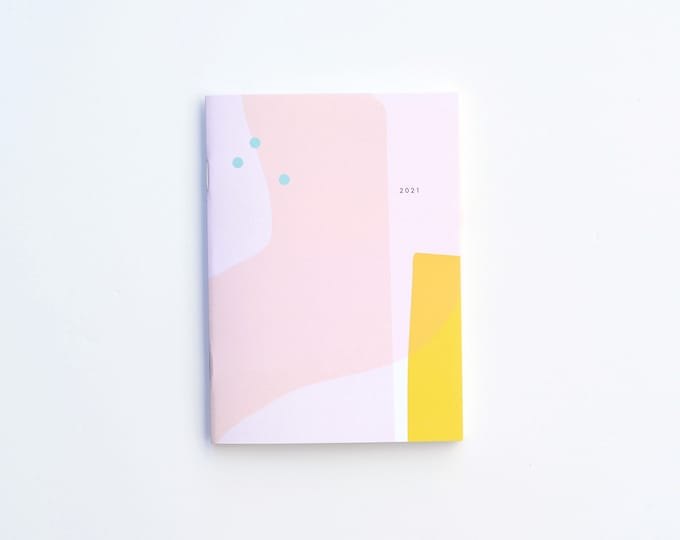 2021 Small Monthly Planner - BEACH - IMPERFECT