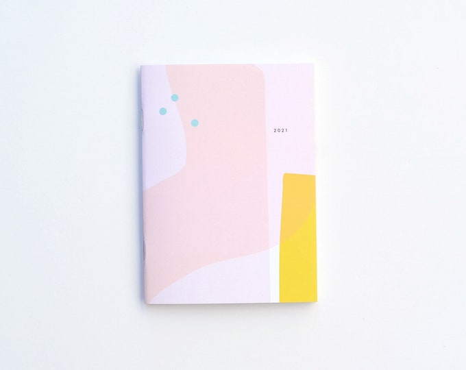 2021 Small Monthly Planner - BEACH