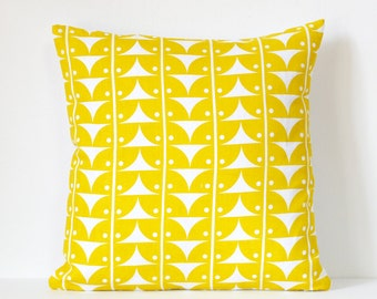 Pillow Cover - AVA Yellow | Cushion Cover | Yellow Pillow Cover