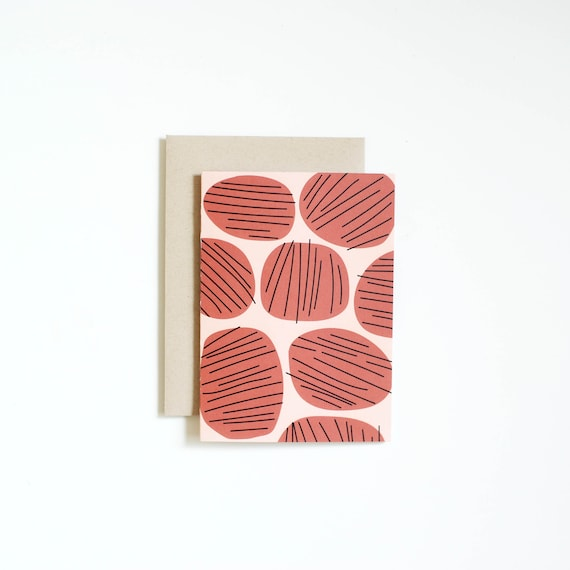 Blank Notecard - STONES | Art Cards | Thank You Cards
