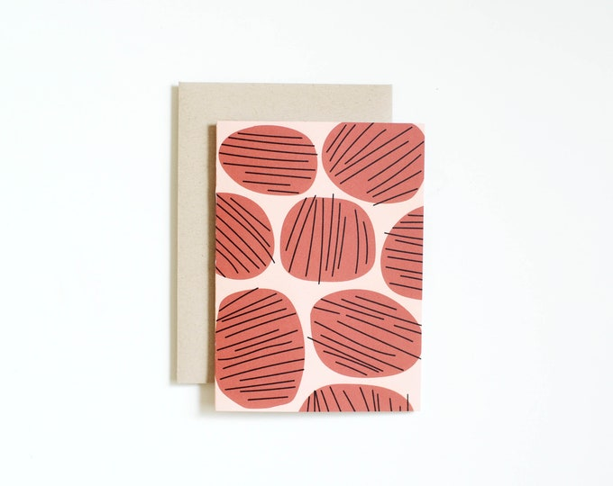 Notecard - STONES | Blank Card | Art Cards | Thank You Cards