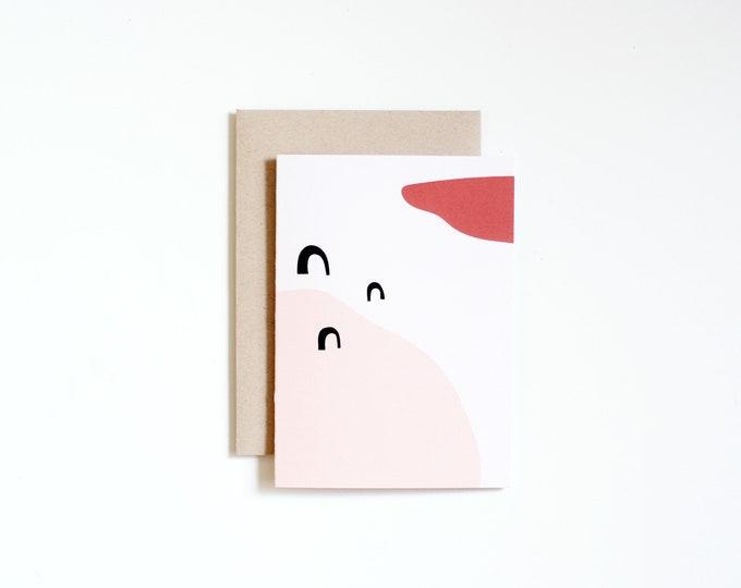 Notecard - WANDER | Blank Card | Art Cards | Thank You Cards