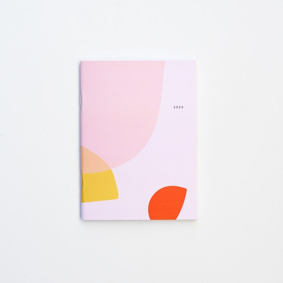 2020 Small Monthly Planner - Pink