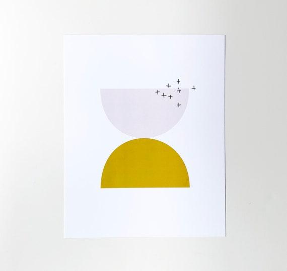 Semi-circle Art Print - 8x10