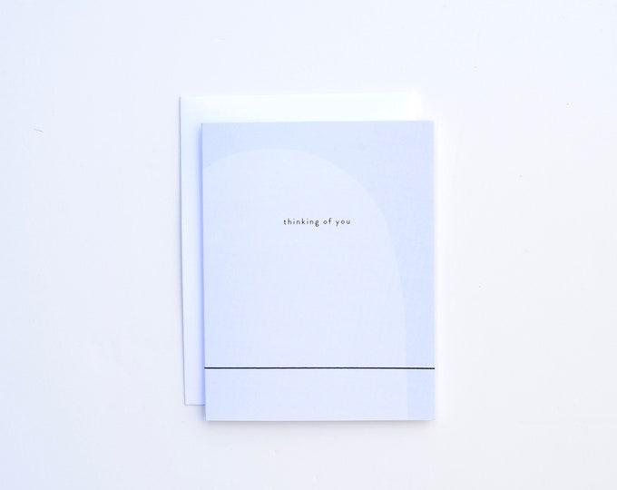 Sympathy Card - Blue