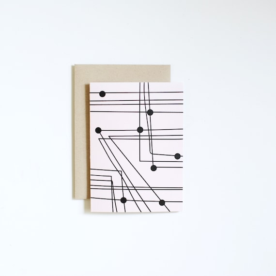 Blank Notecard - TRANSIT | Art Cards | Thank You Cards
