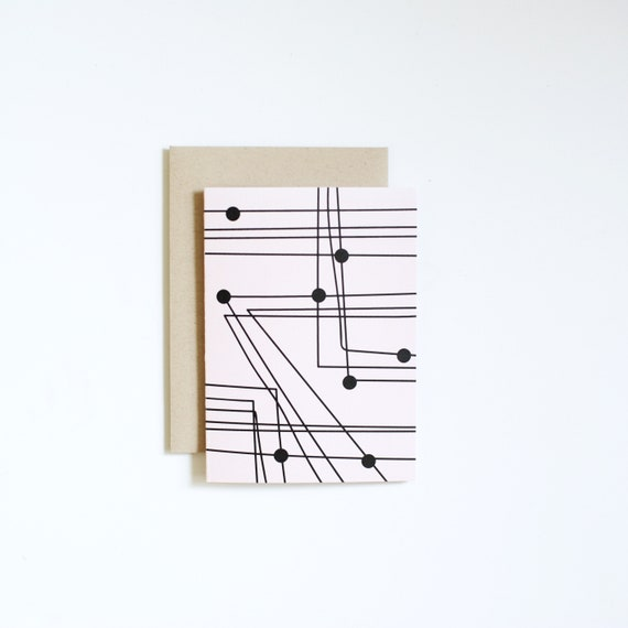 Notecard - TRANSIT | Blank Card | Art Cards | Thank You Cards