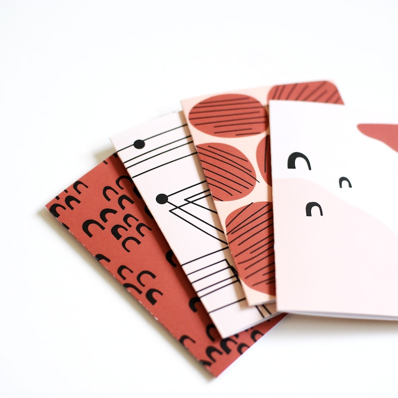Notecard Art Cards TRANSIT Thank You Cards Blank Card