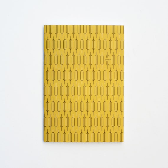 2020 Big Monthly Planner - Mustard
