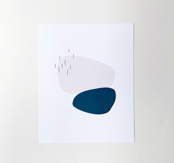 Stones Art Print - 8x10
