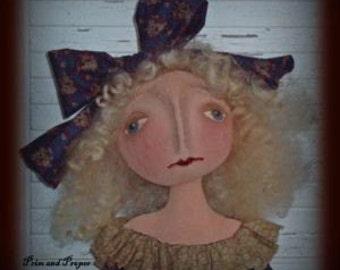 Primitive Doll Epattern - Willow