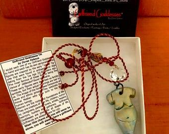 Girlfriend Goddesses® OOAK  Mini Goddess Lila