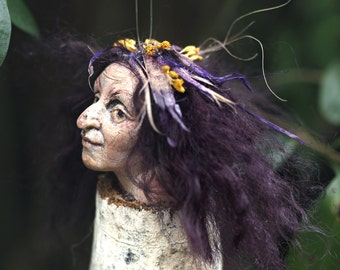 Witch, Halloween, handmade decoration