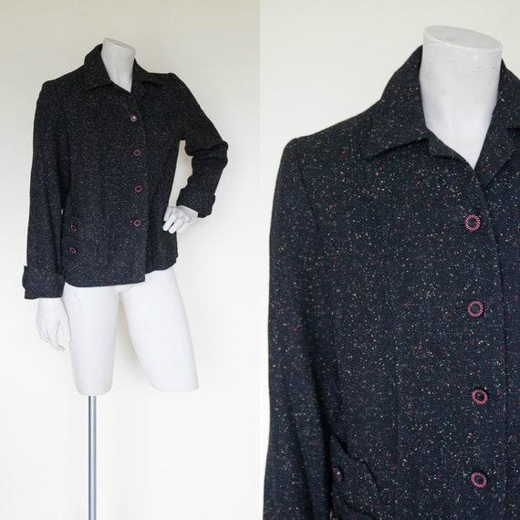 Vintage 1950s Jacket, Womens Coat