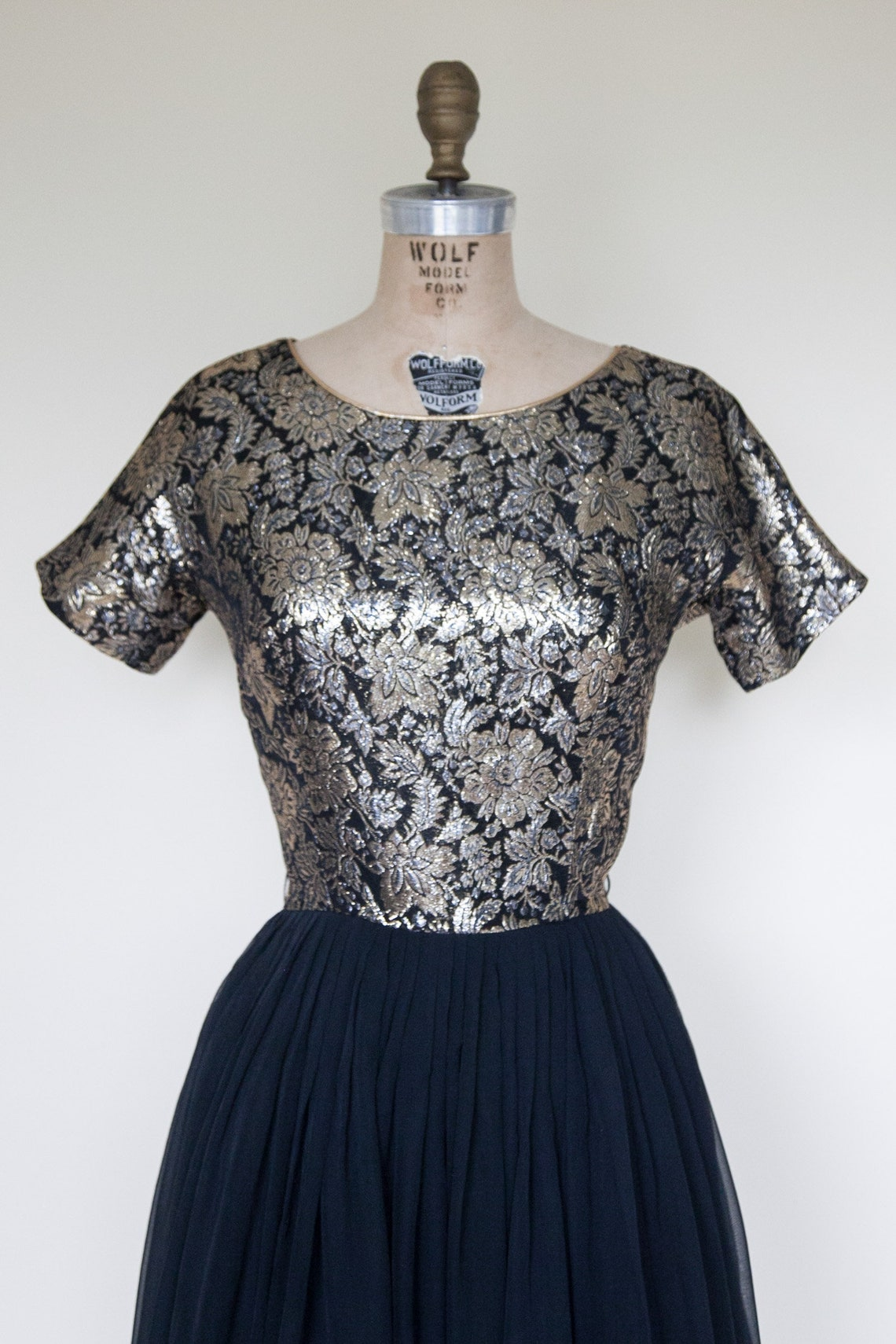 1950s Dress Vintage Cocktail Dress