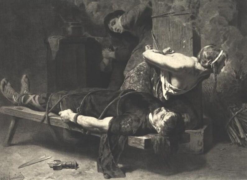 Nackt folter