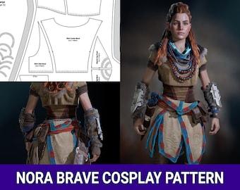 Aloy Nora  Brave Cosplay Pattern | Horizon Zero Dawn