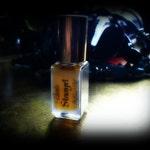 Strumpet Perfume Oil - Moroccan Rose Clove Spiced Amber Ebony Musk Vanilla Musk Sweet Yellow Cake