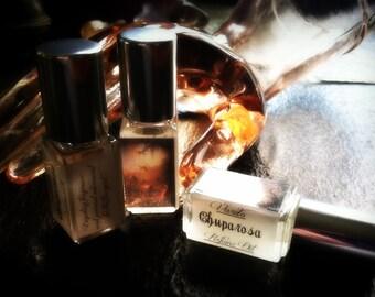 Chuparosa Perfume Oil - Rich Sweet Floral Musk Amber Sandalwood
