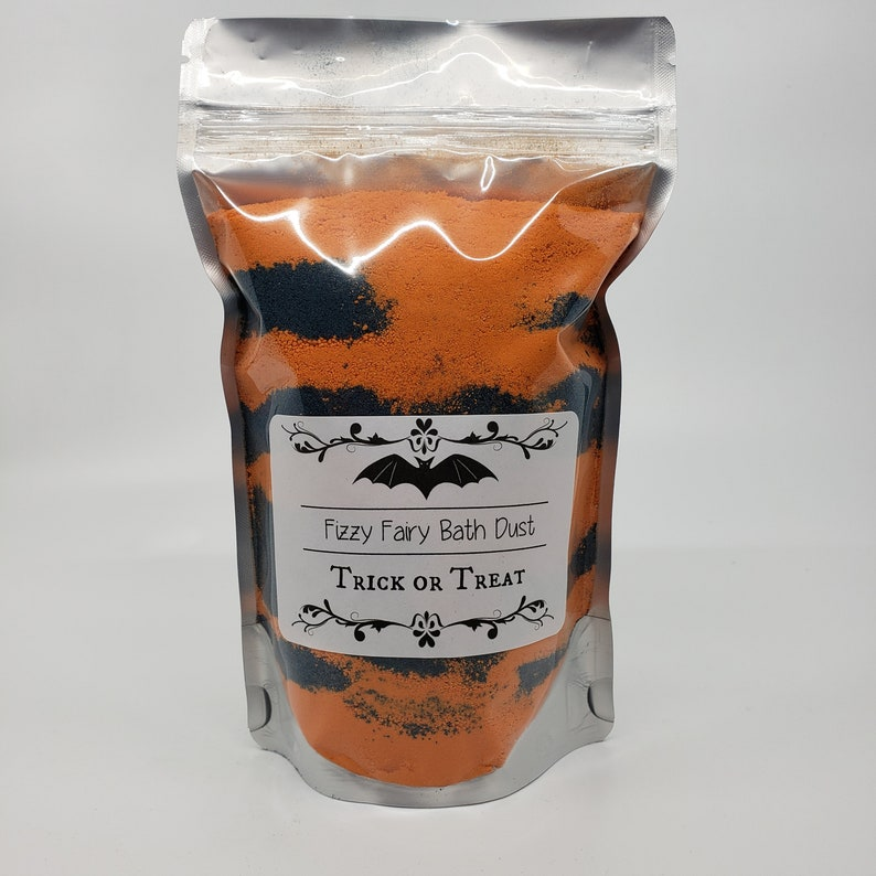 Fizzy Fairy Bath Bomb Dust: Trick or Treat Candy Scented image 0