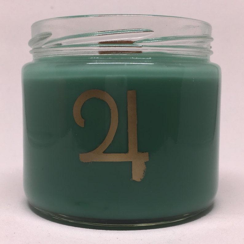 Sailor Jupiter Inspired Candle image 0