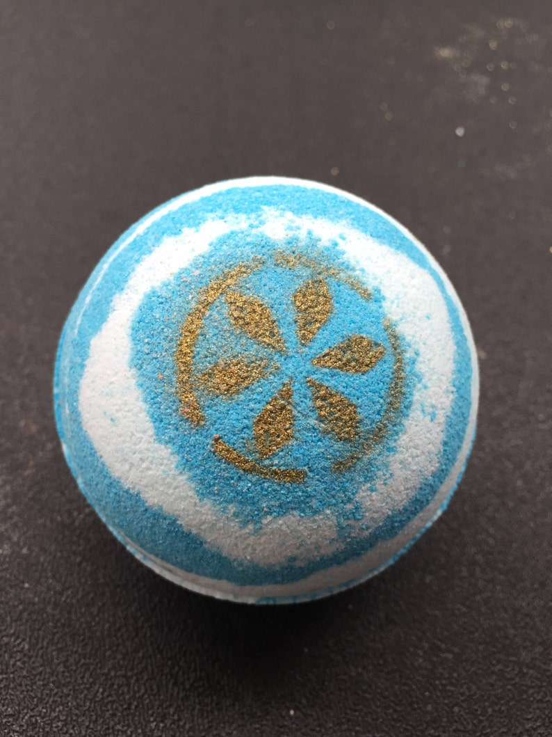 Serenade of Water Inspired Bath Bomb WITH Charm Inside image 0
