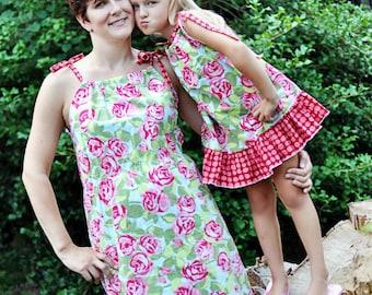 Mommy & Me Pillowcase Top Dress Pattern Bundle
