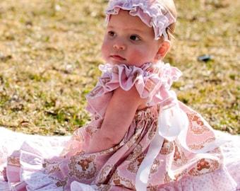 PDF Sewing Pattern Sweet Baby Doll Dress newborns through 12 girls Instant