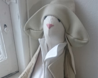 Cloth Cotton Bunny Rabbit Soft Toy Animal Hand Made Original