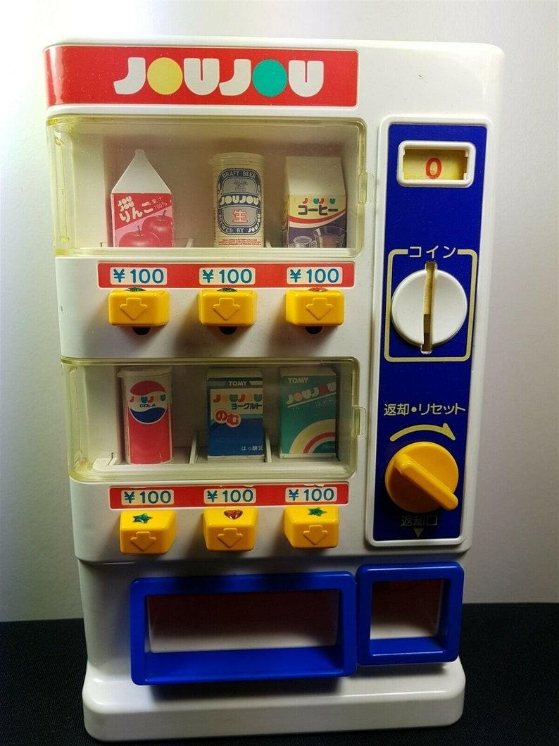 Mini Vending Machine >> Vintage Miniature Vending Machine Tomy Joujou Toy 1989 Japan Etsy