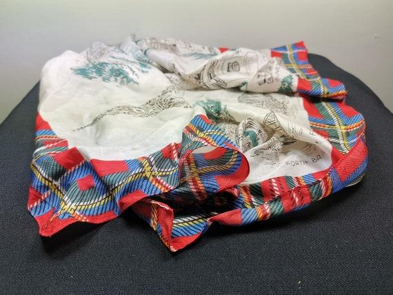 Vintage Women's Scarf Scotland Souvenir with Scot… - image 5