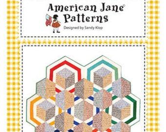Fizzy Pop Quilt Pattern by American Jane AJ 284