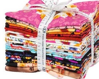 Frida Khalo, Fat Quarter Bundle + Panels, 22pc, Robert Kaufman Fabric Quilting Cotton, FQ-1689-22, F02