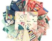 Fresh Meadow, Fat Quarter Bundle, 18pc, Melissa Lowry, Precut Fabric Quilting Cotton, Clothworks, F27, F31, CL