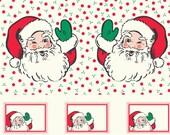Swell Sweet Christmas, Santa Panel, 31127-11, Christmas Fabric, Moda, 100 Cotton, 1180