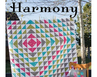Harmony Sewing Card Quilt Pattern by Valori Wells VWD 411