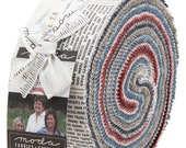 Branded, Jelly Roll, Sweetwater, Precut Fabric Quilting Strips, Moda, 5780JR, J14, CL