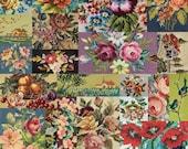 Flea Market Moxie, Needlepoint, 7361-11D, Cathe Holden Fabric, 100 Cotton, 1380