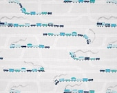 Trains - On My Way STELLA-617 Multi, Dear Stella Fabric, 100 Cotton