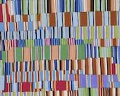 Kaffe Fassett Fabric, Shirt Stripes, GP51 Brown, Free Spirit, 100 Cotton, KC278